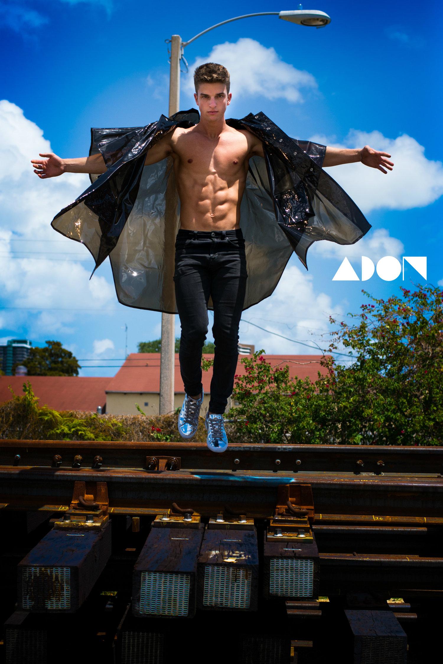 Adon Exclusive: Model Bruno Scafidi By Ivan Sanchez