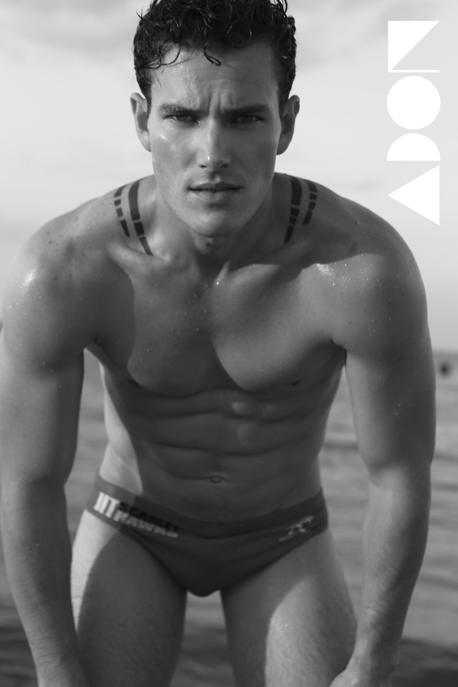 Adon Exclusive: Model JEFFERSON WEST By MICHAEL DAR