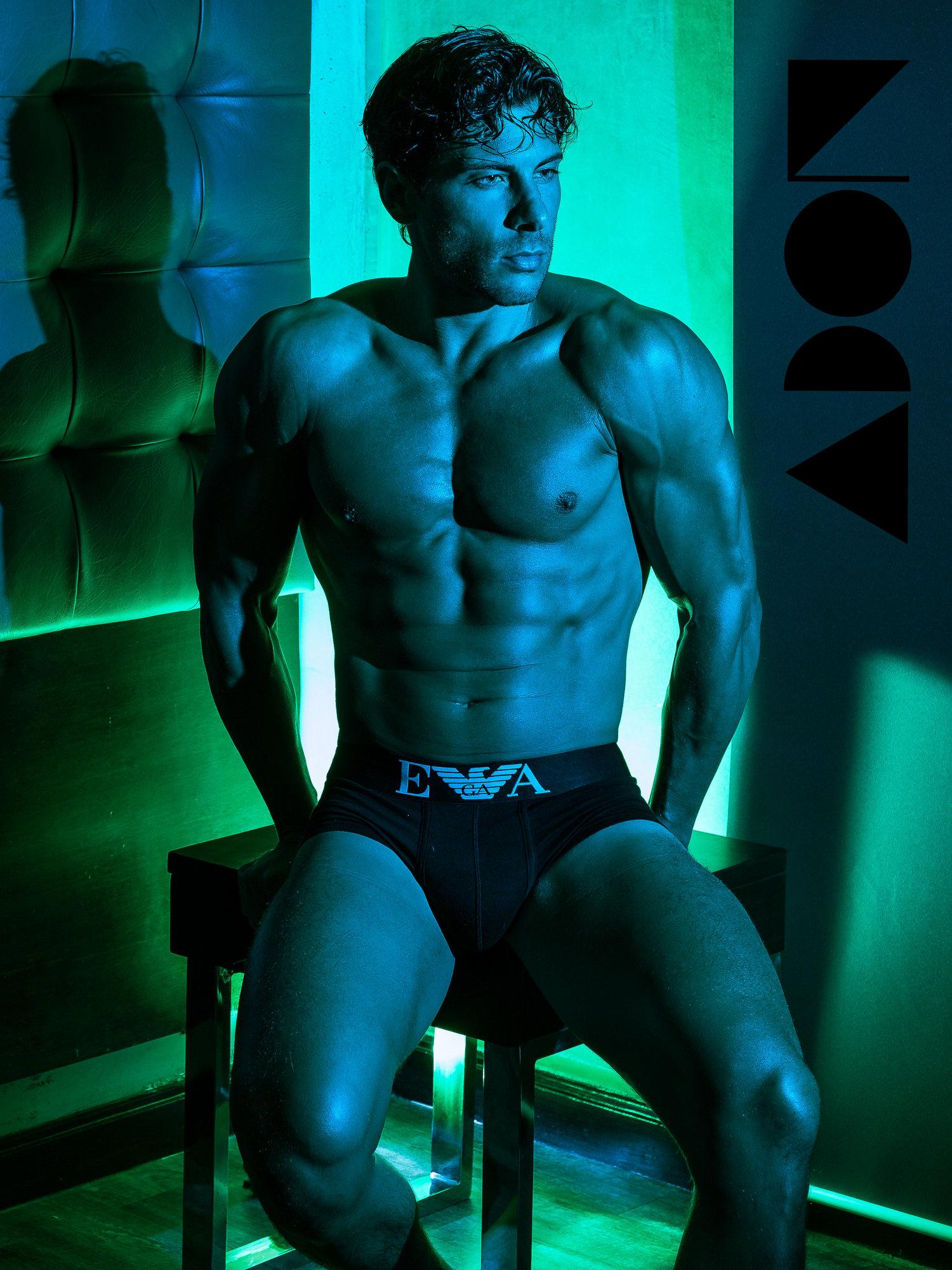 Adon Exclusive: Model Davide Pasqualini By Alex Tupaz