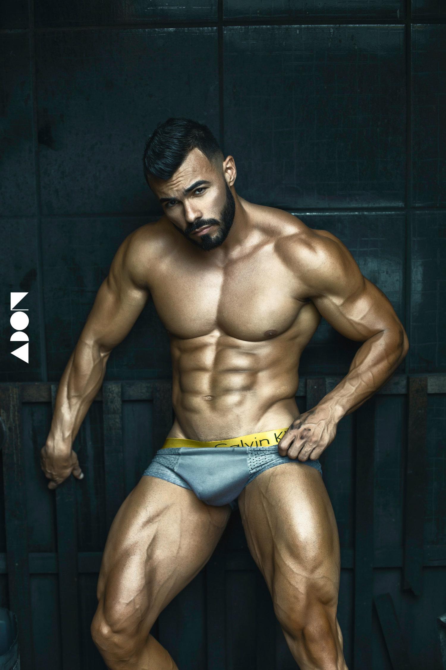 Adon Exclusive: Model André Filipy By Henrique Marques