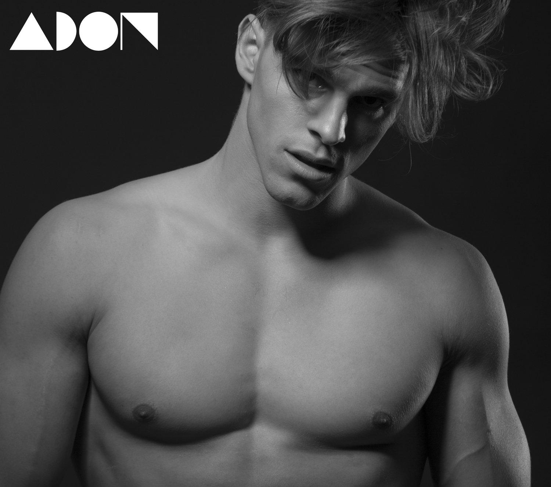 Adon Exclusive: Model Fabian Fröhlich By Paul Van Der Linde
