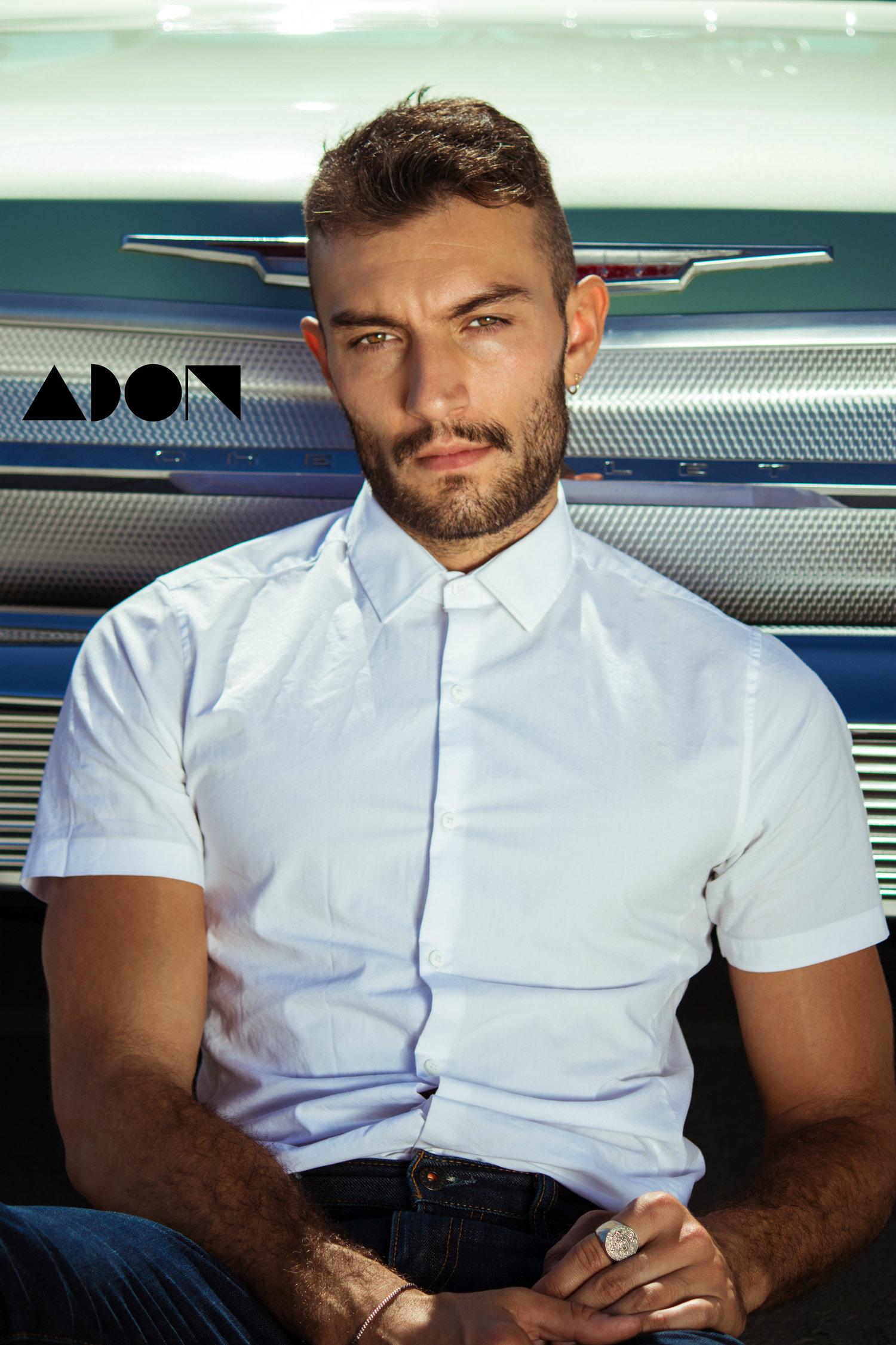Adon Exclusive: Model Jared North By David Villalva