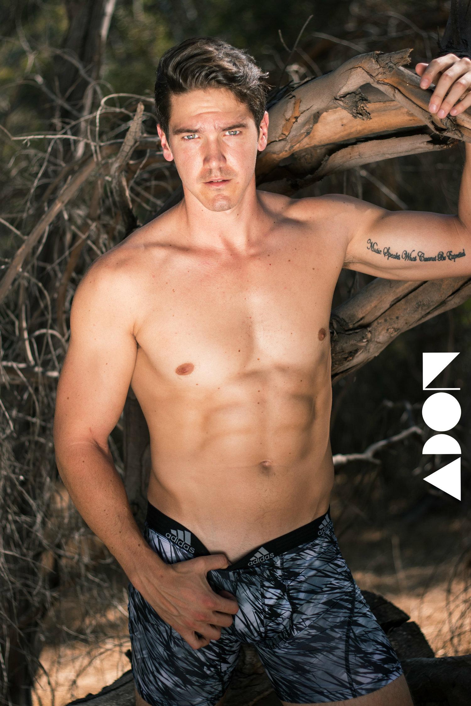 Adon Exclusive: Model Eric Zarenko By David Villalva