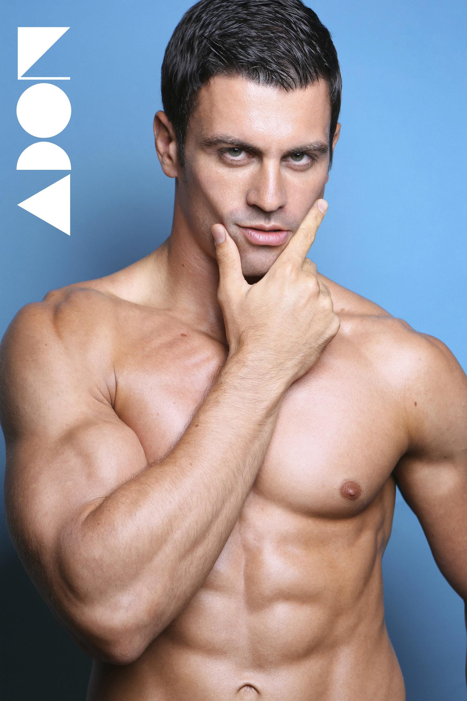 Adon Exclusive: Model Michael J Scanlon By Michael Dar