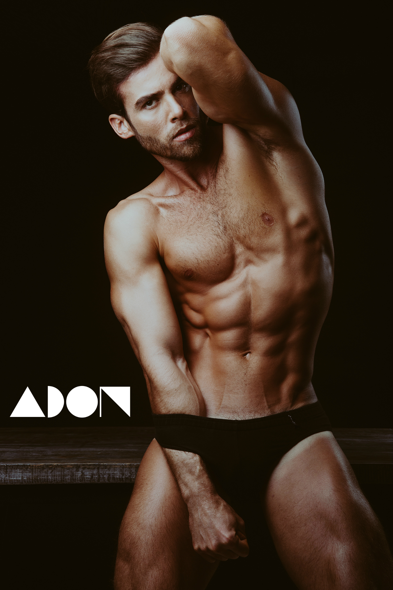 Adon Exclusive: Model David Ortega By Luis De La Luz