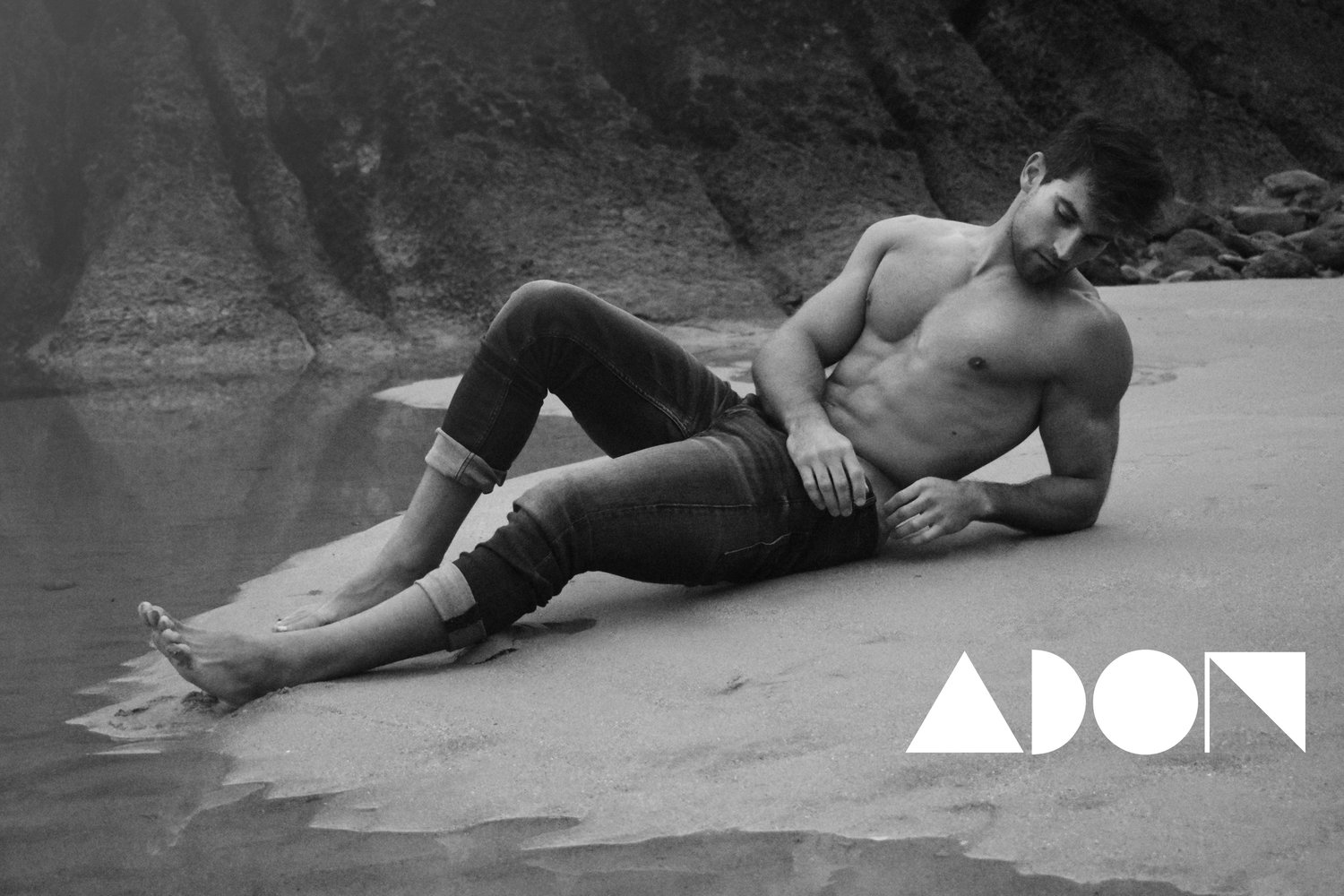 Adon Exclusive: Model Diego Caballero By Manu Bermúdez