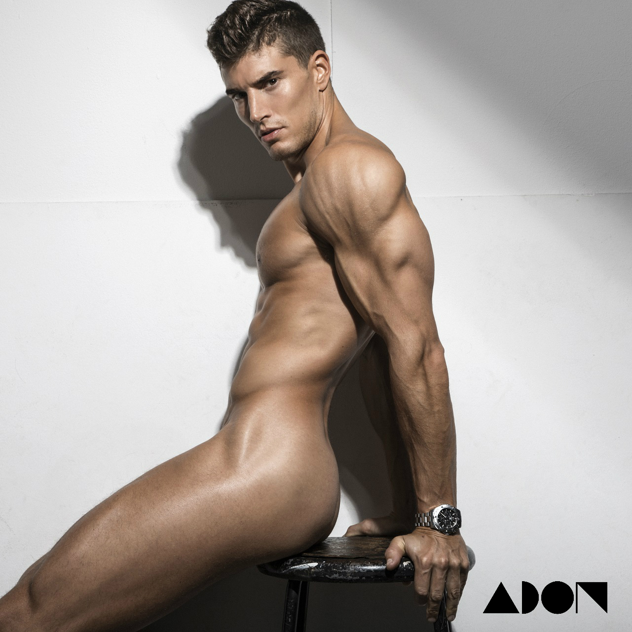Adon Exclusive: Model Ramón Puñet Corvillo By Rick Day