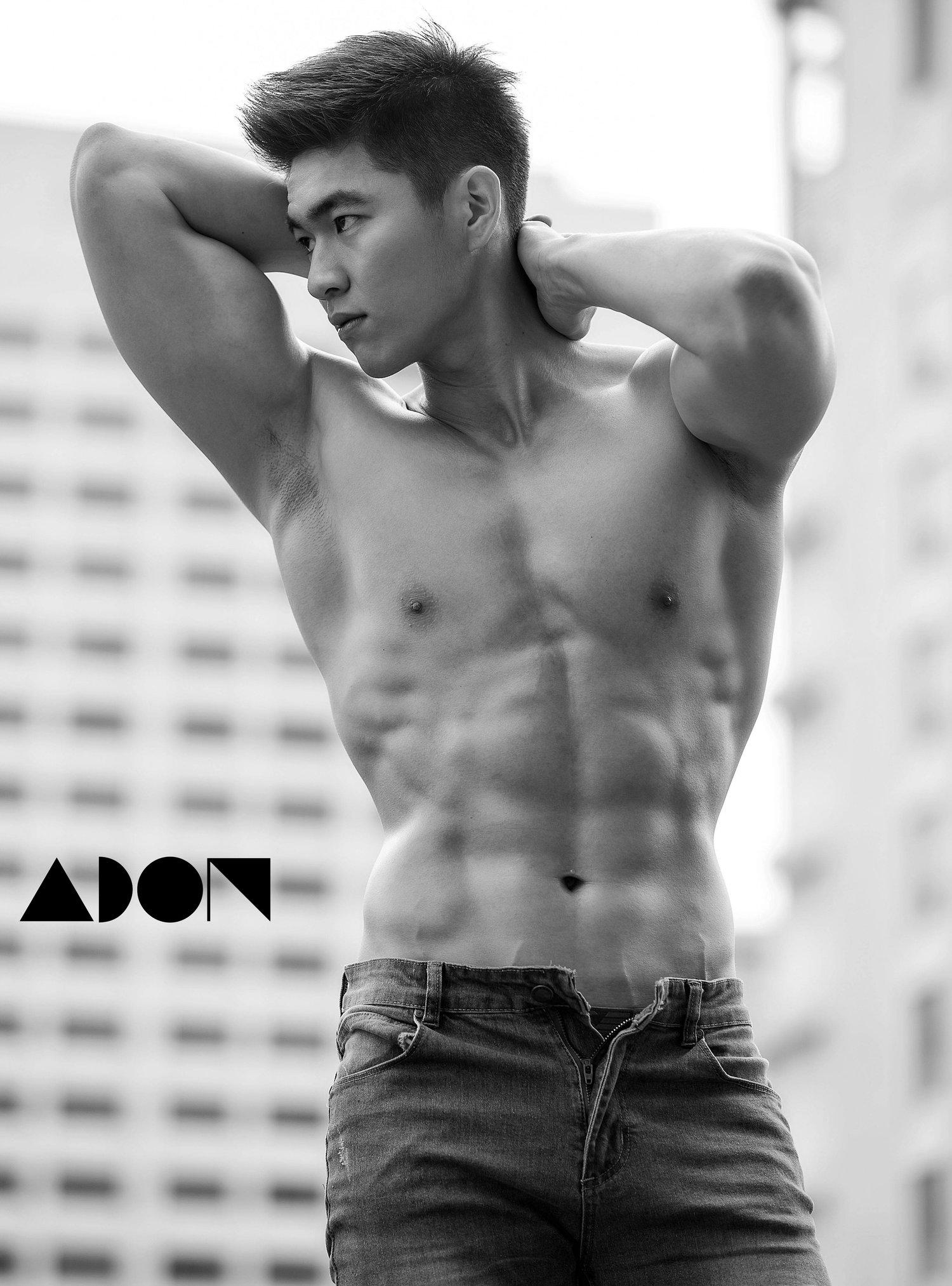 Adon Exclusive: Model Gan Kai Han By Jason Oung