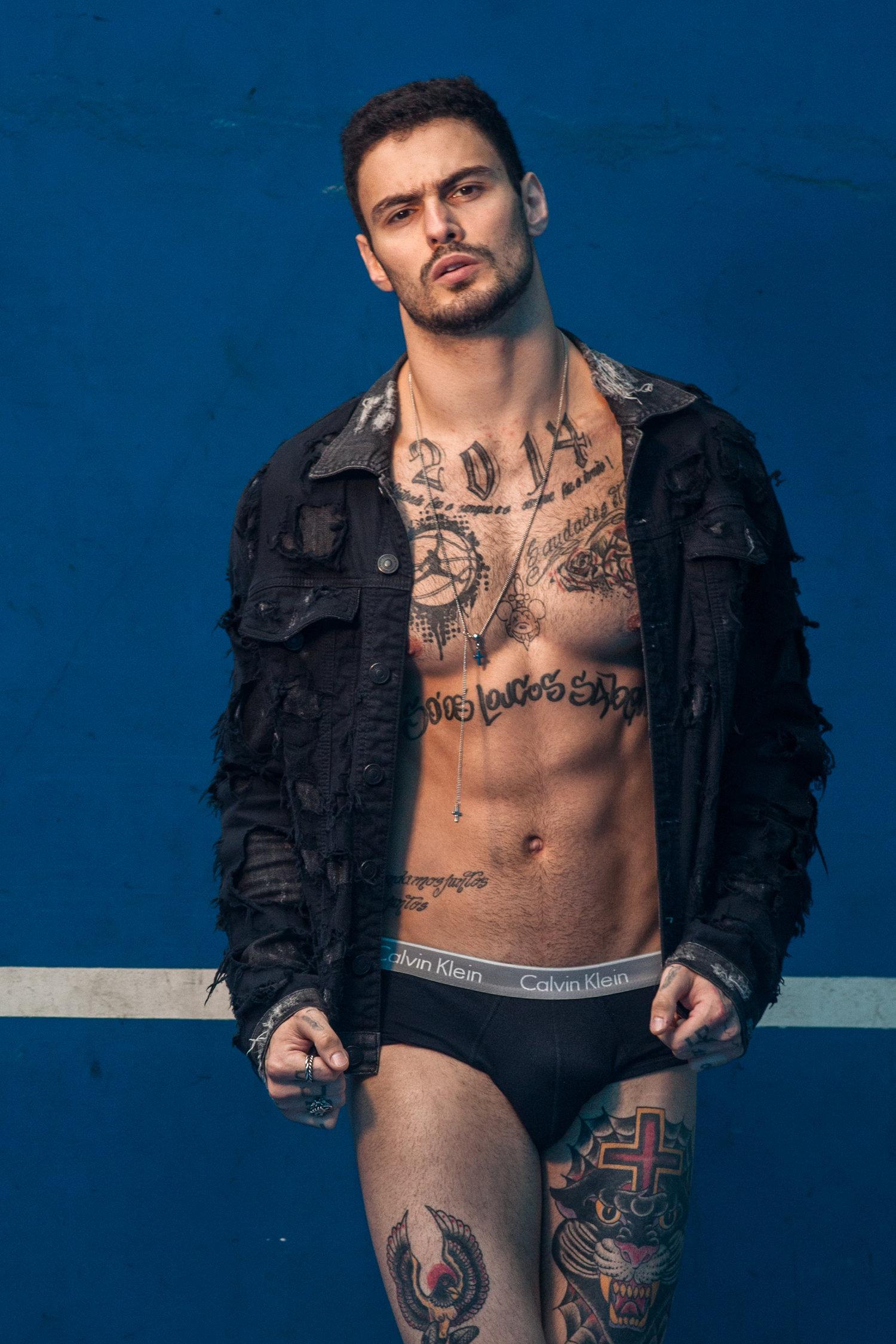 Adon Exclusive: Model LUIS COPPINI By Marcelo Auge