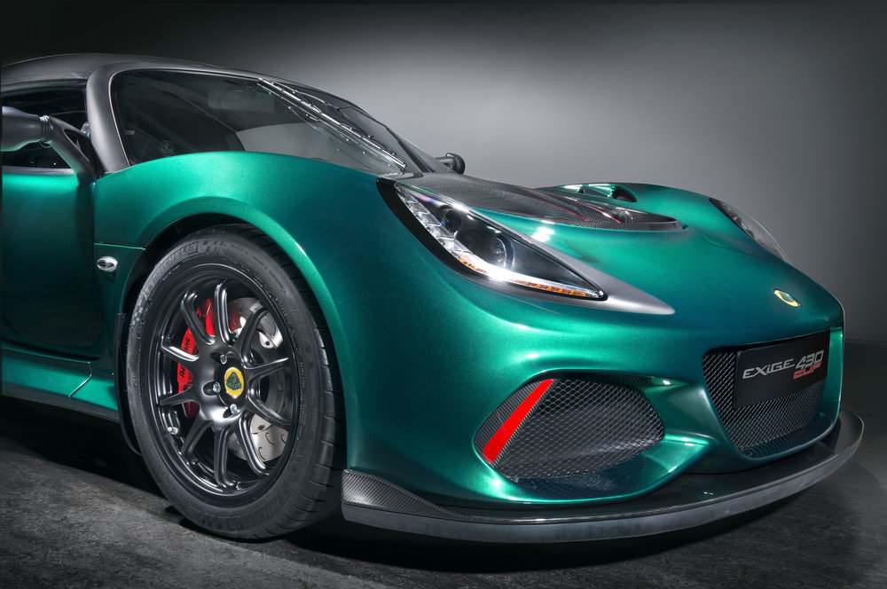 The Exige Cup 430 is available as a series production car and can be ordered now, priced £99,800 including VAT (UK) and €127,500 (Germany) and €128,600 (France).