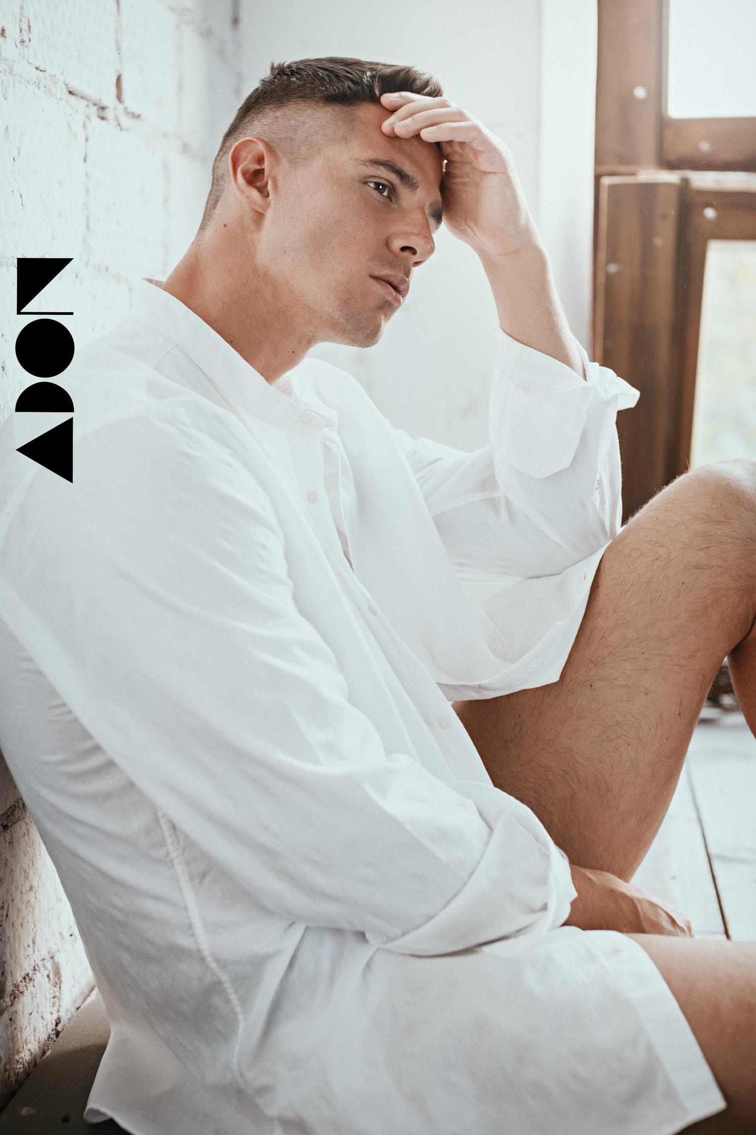 Adon Exclusive: Model Dmitry Averyanov By Pavel Lepikhin