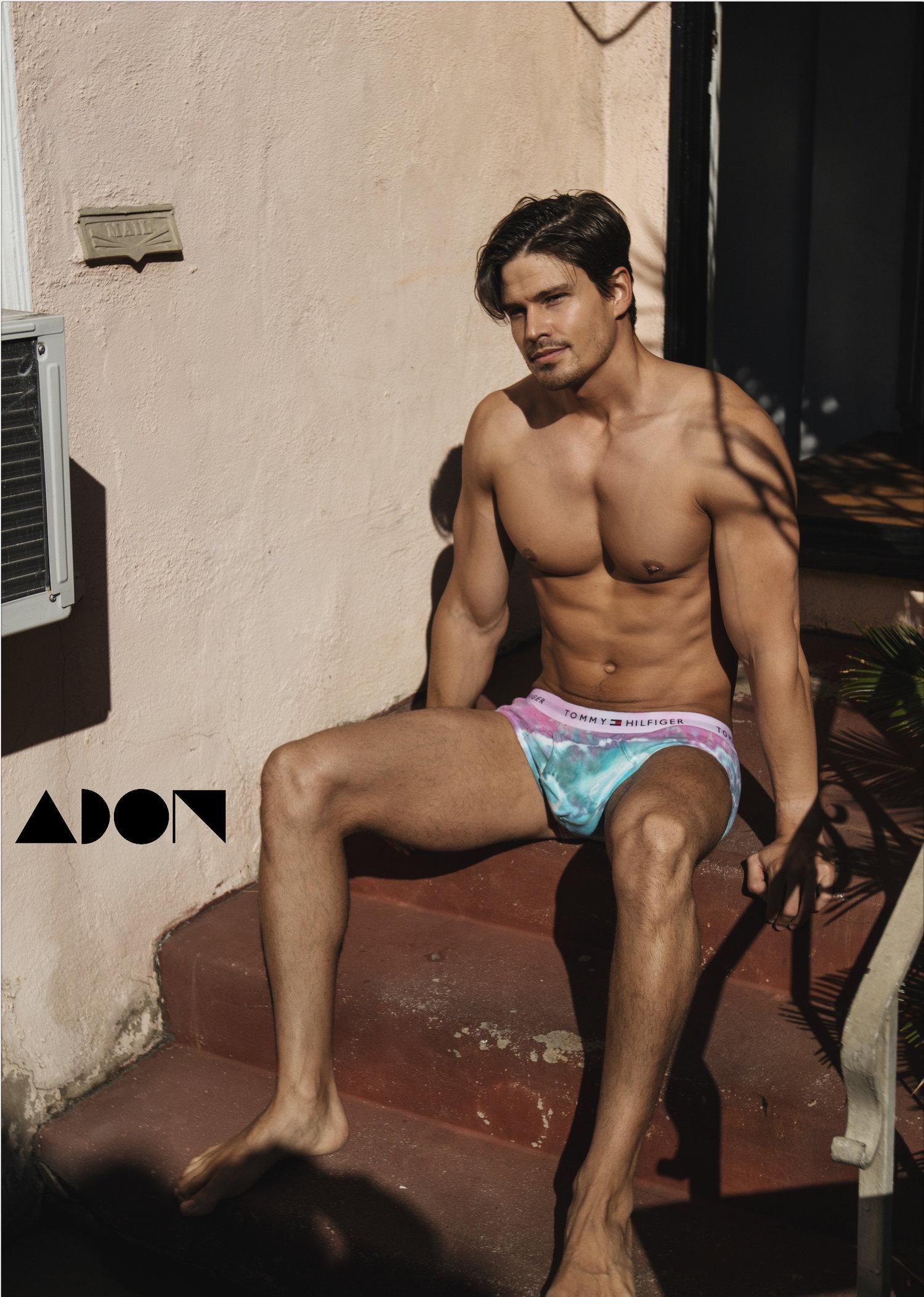 Adon Exclusive: Model Bernardo Belmar By Adam Washington