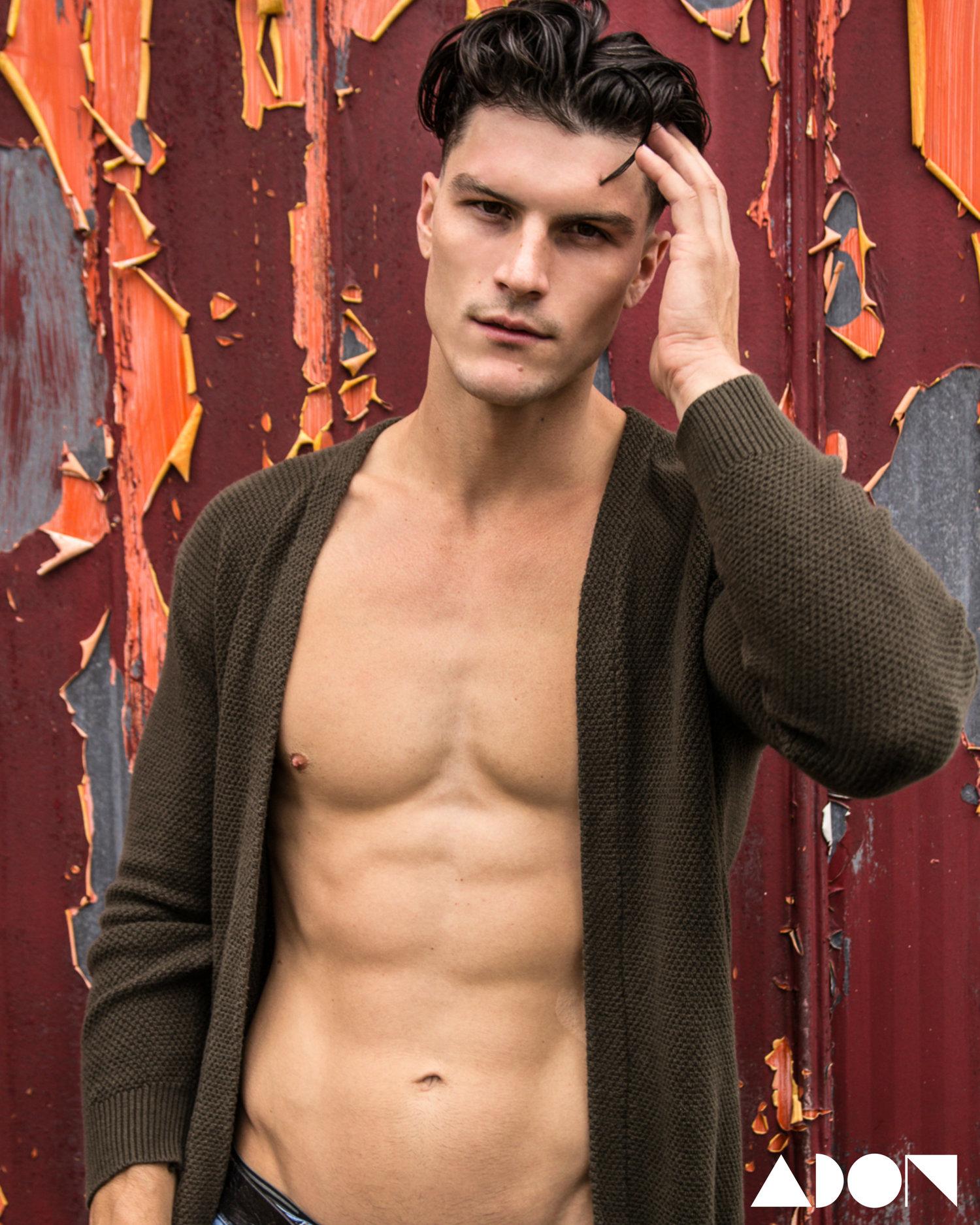 Adon Exclusive: Model  Jesse Cronk By Michael Porter