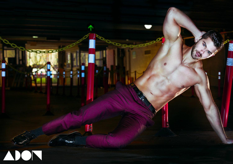 Adon Exclusive: Model Michael Scott Jelly By Nico Gonzalez