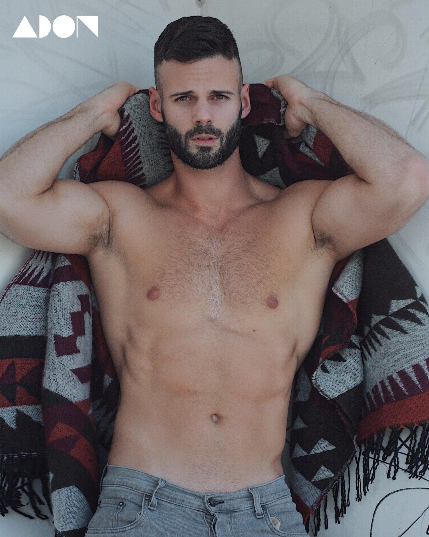 Adon Exclusive: Model Wilfredo Perdomo By Luis Lucas
