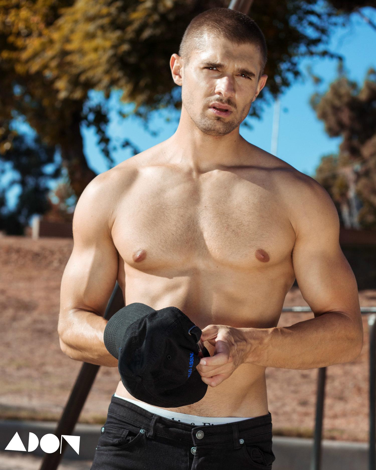 Adon Exclusive: Model Anthony Parker By David Villalva