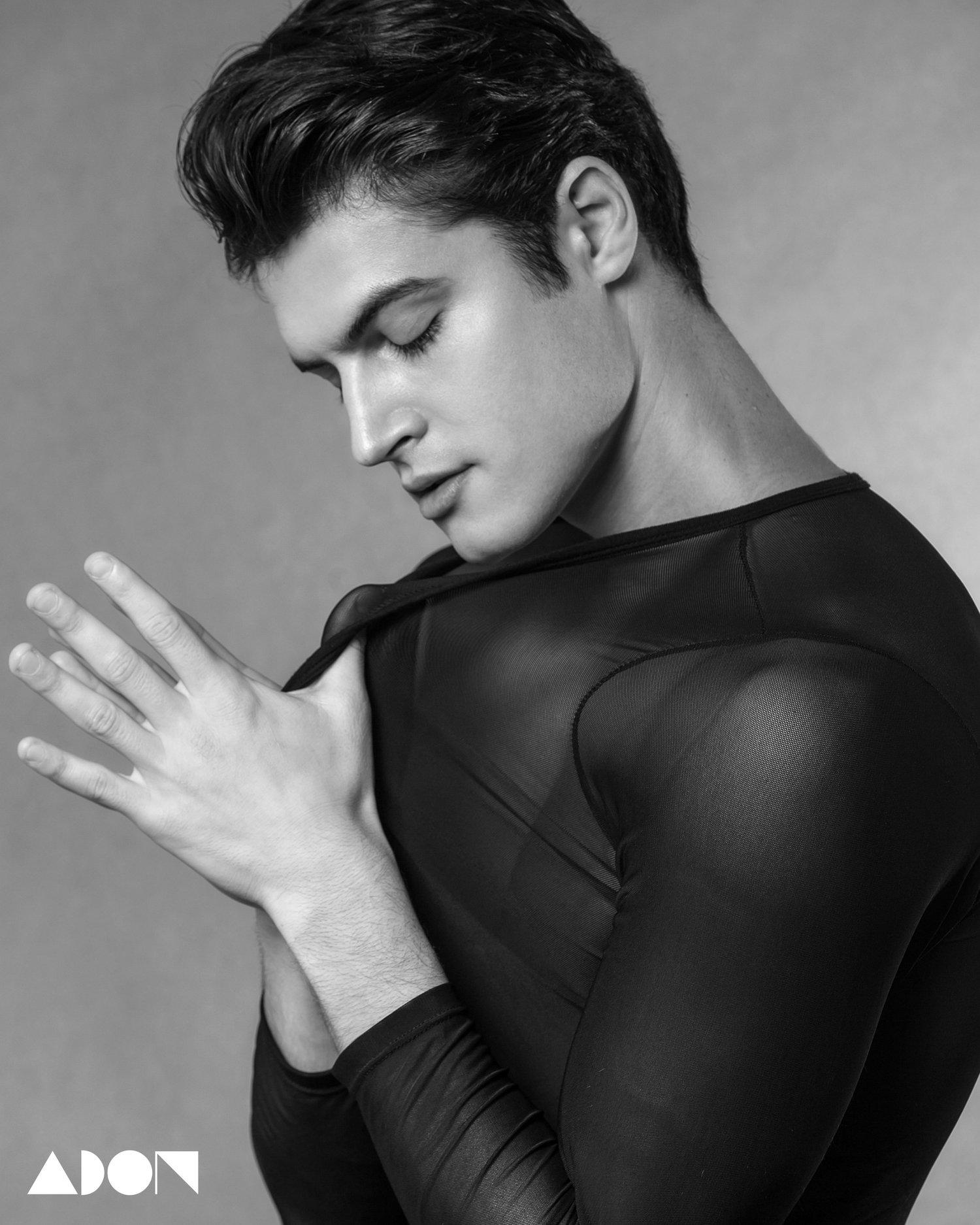 Adon Exclusive: Model Luka Skocilic By Jason Oung