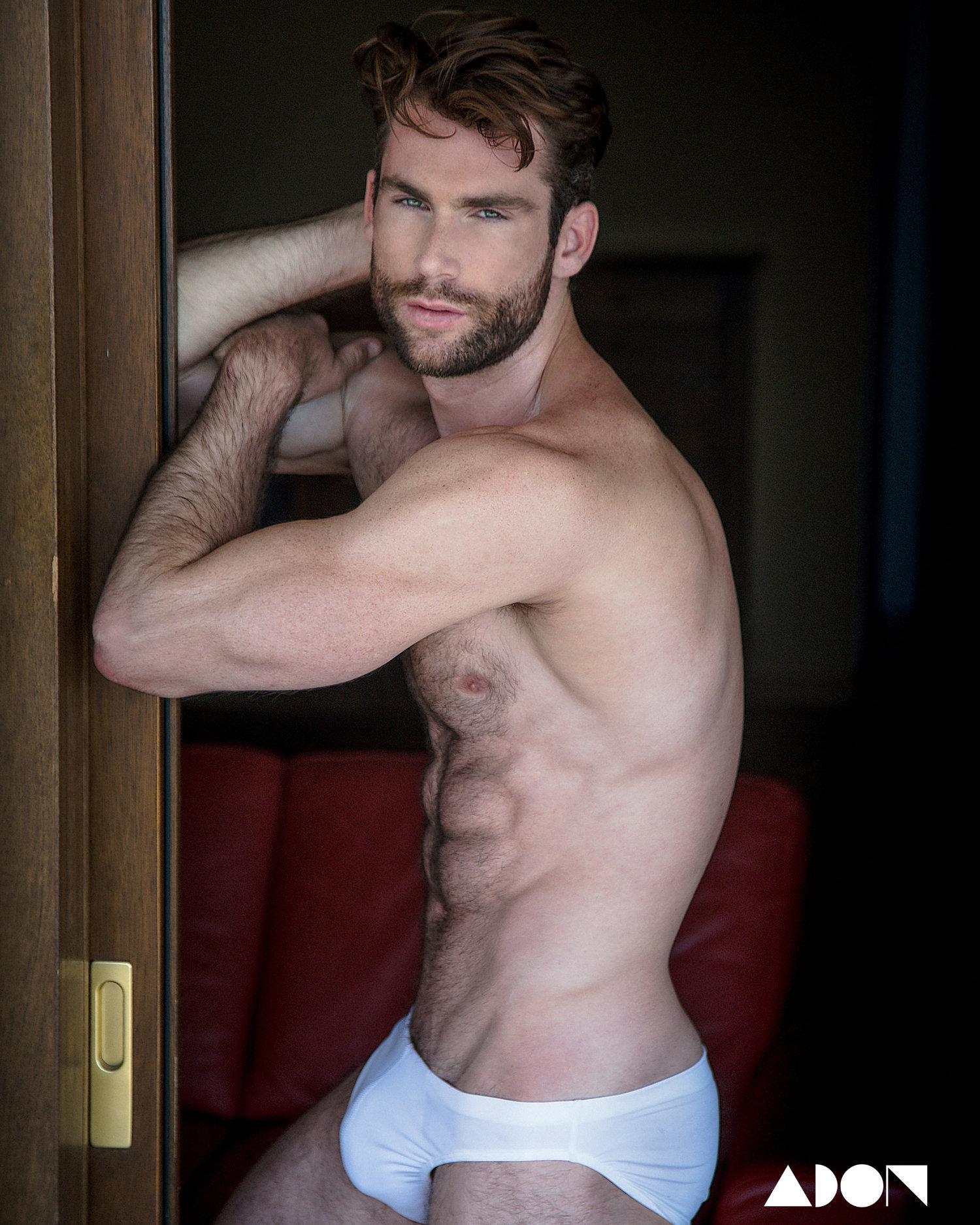 Adon Exclusive: Model Julian Ardley By Roberto Viccaro