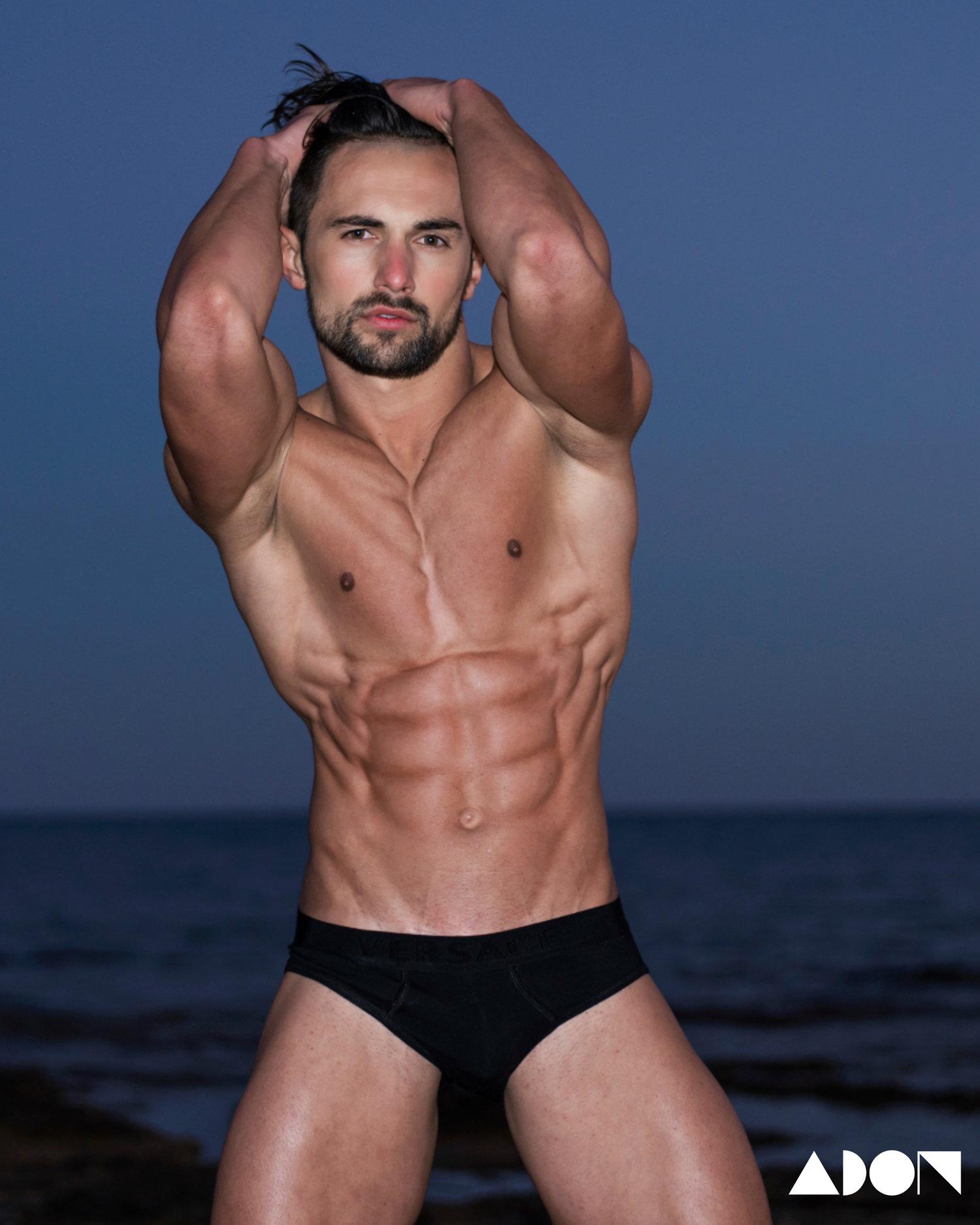 Adon Exclusive: Model Mykhailo Kish By Stavros Christodoulou