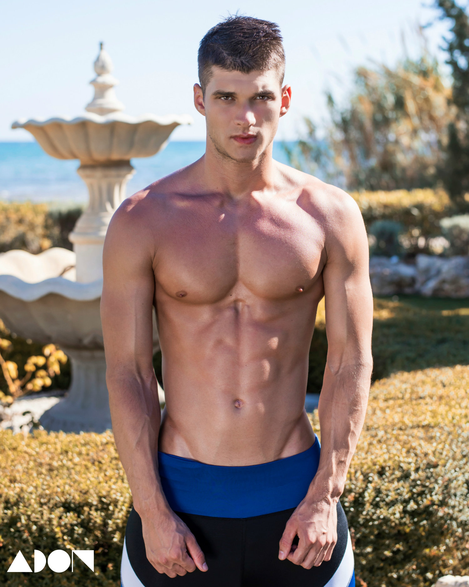 Adon Exclusive: Model Philipp Brem By Stavros Christodoulou