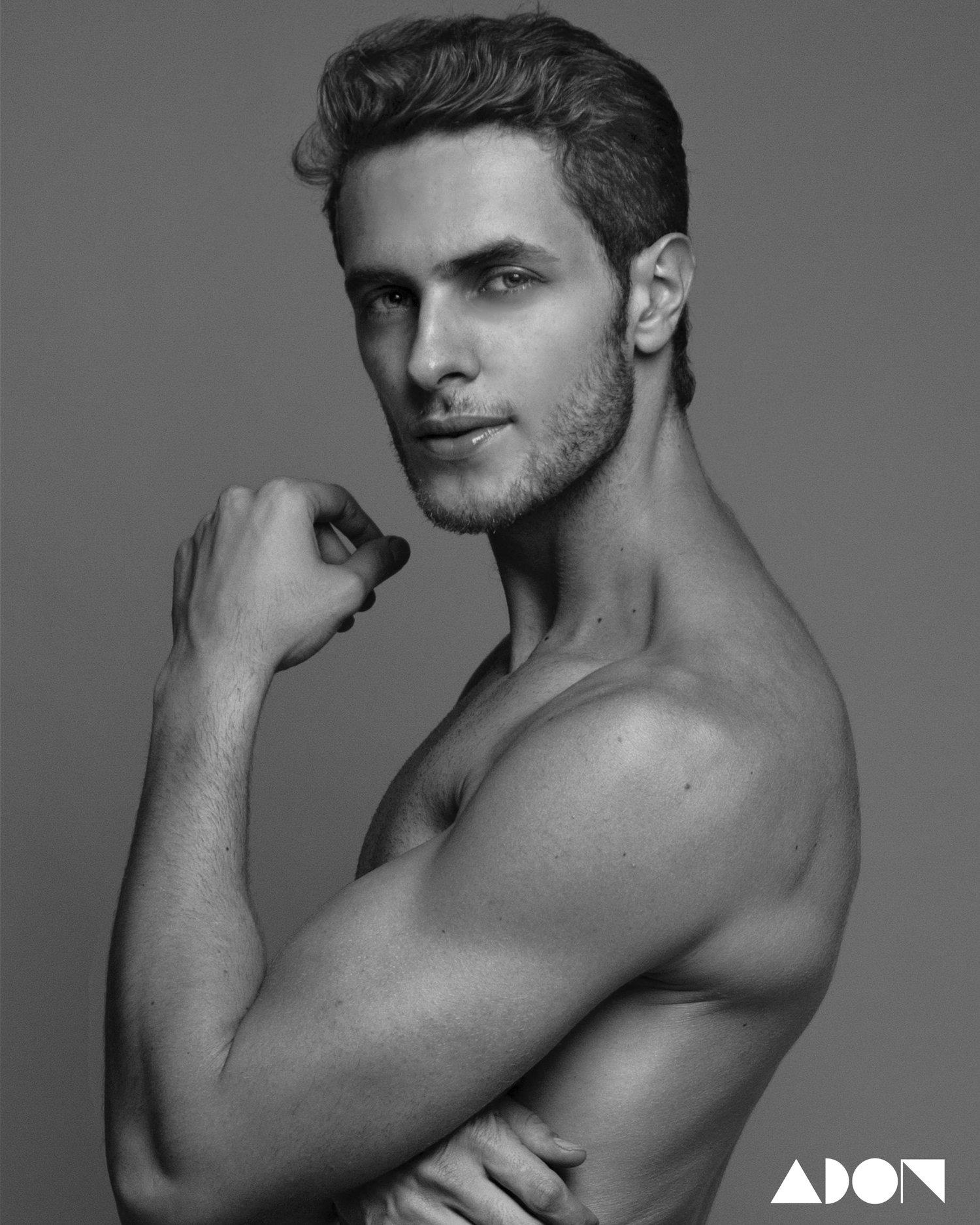 Adon Exclusive: Model Gabriel Ramos By Sandy Lang