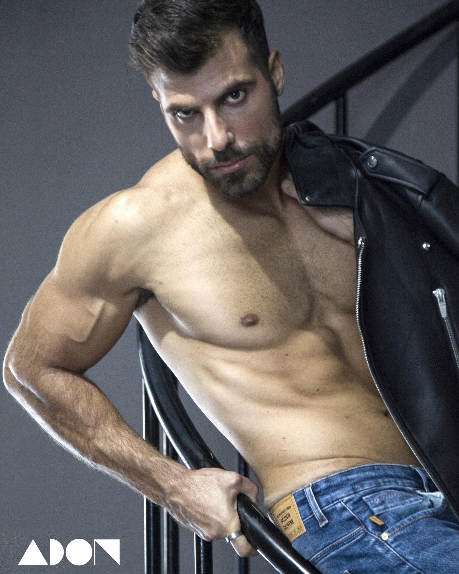 Adon Exclusive: Model Chris Neo By Jay Logothetis