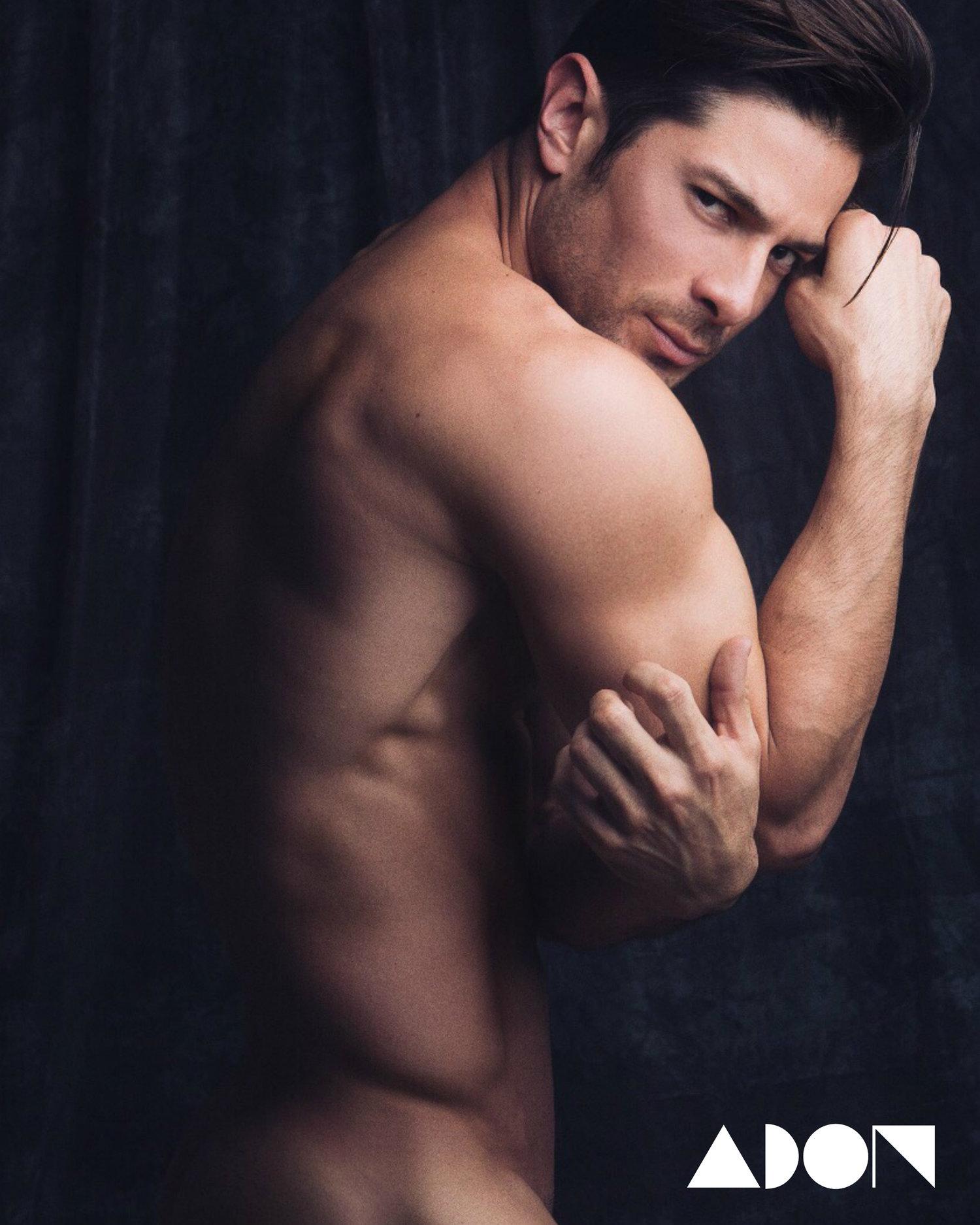 Adon Exclusive: Model Felipe Flores By Luis de la Luz