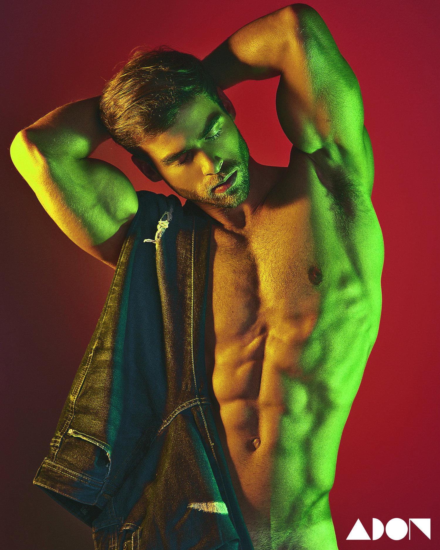 Adon Exclusive: Model David Ortega By Bruno Olvez