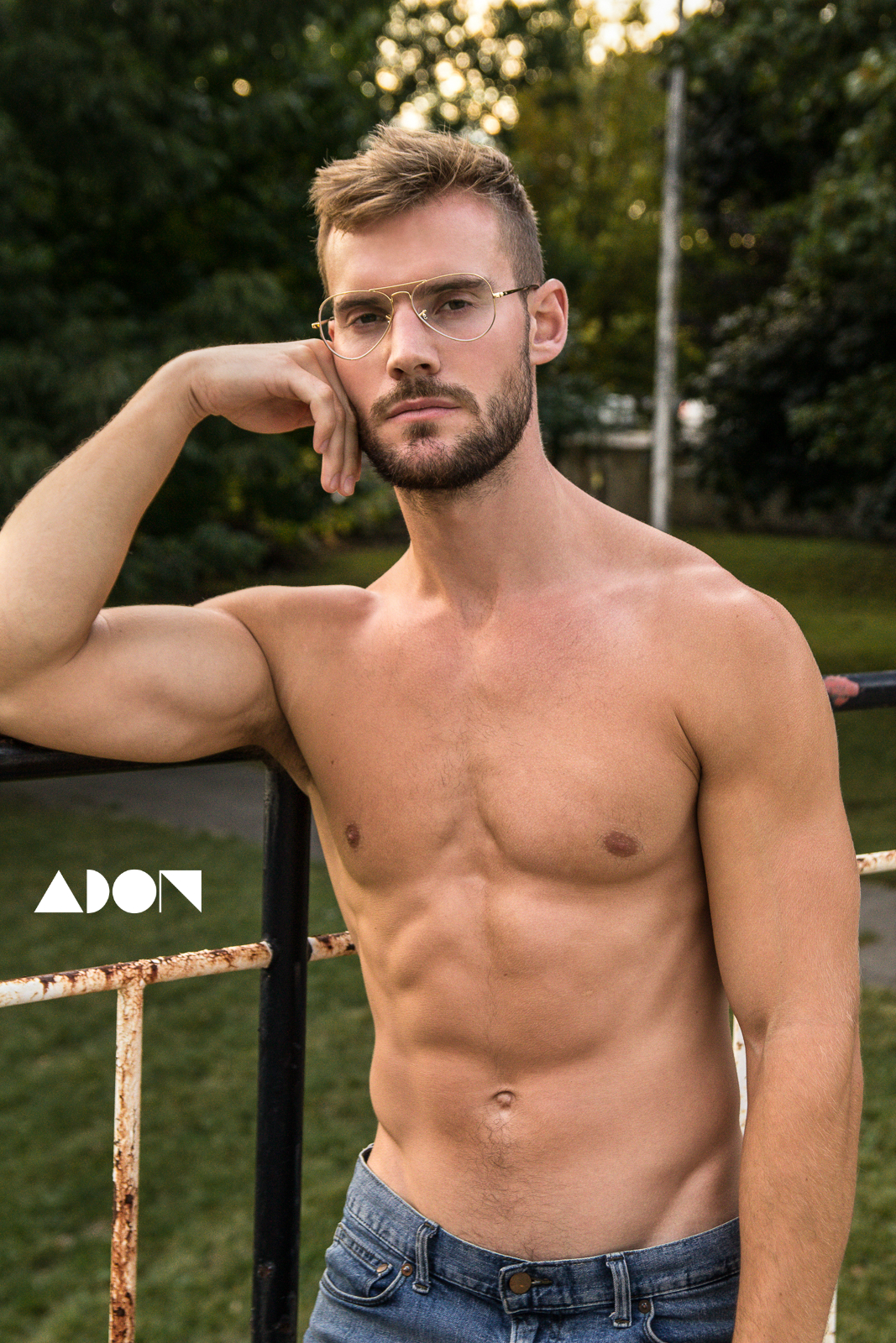 Adon Exclusive: Model Stephen Hodgson By Michael Porter
