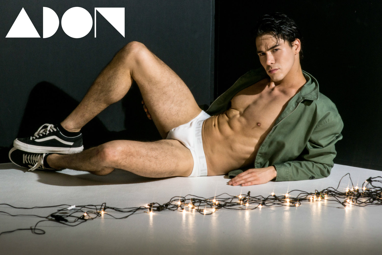 Adon Exclusive: Model Wolf zuno By Juliana Soo