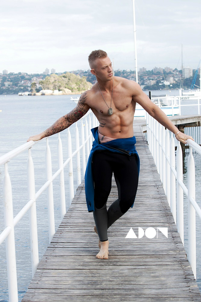 Adon Exclusive: Model Justin McNairn By  Andrew Stubberfield
