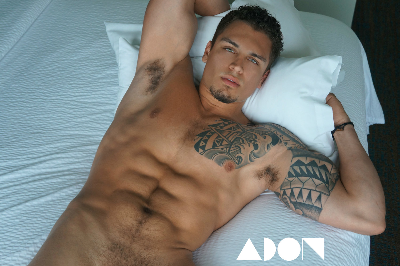 Adon Exclusive: Model Nick Rodriguez By Matt Lian