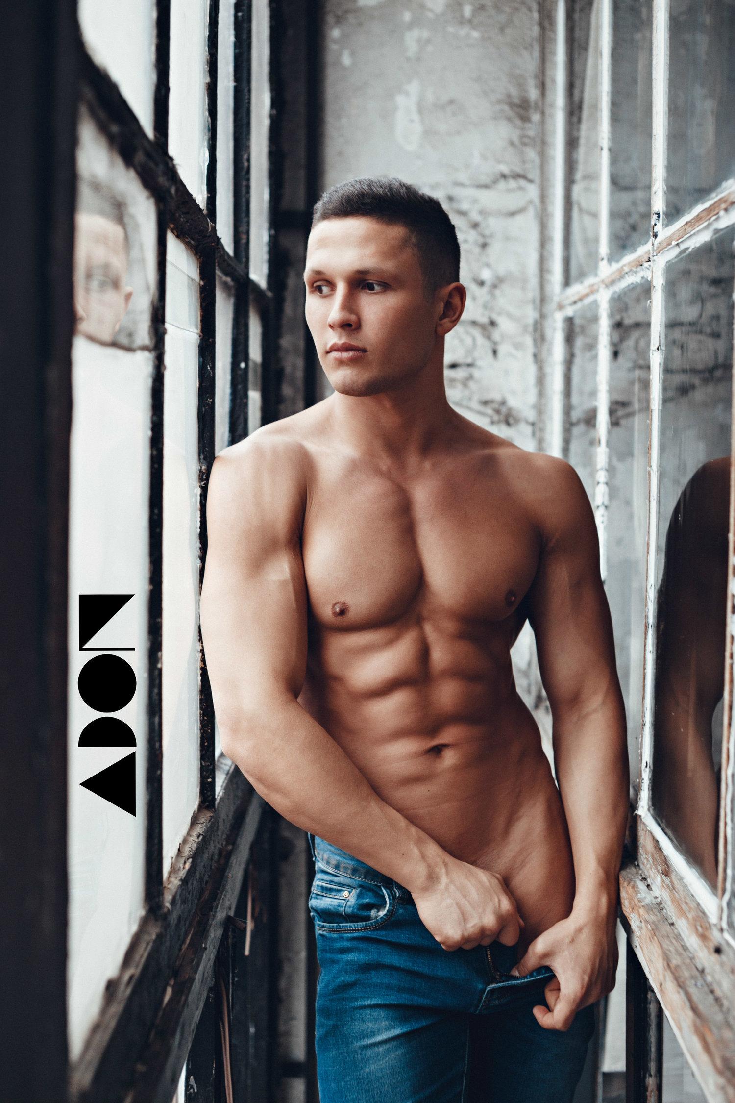 Adon Exclusive: Model Ruslan Efimov By Pavel Lepikhin