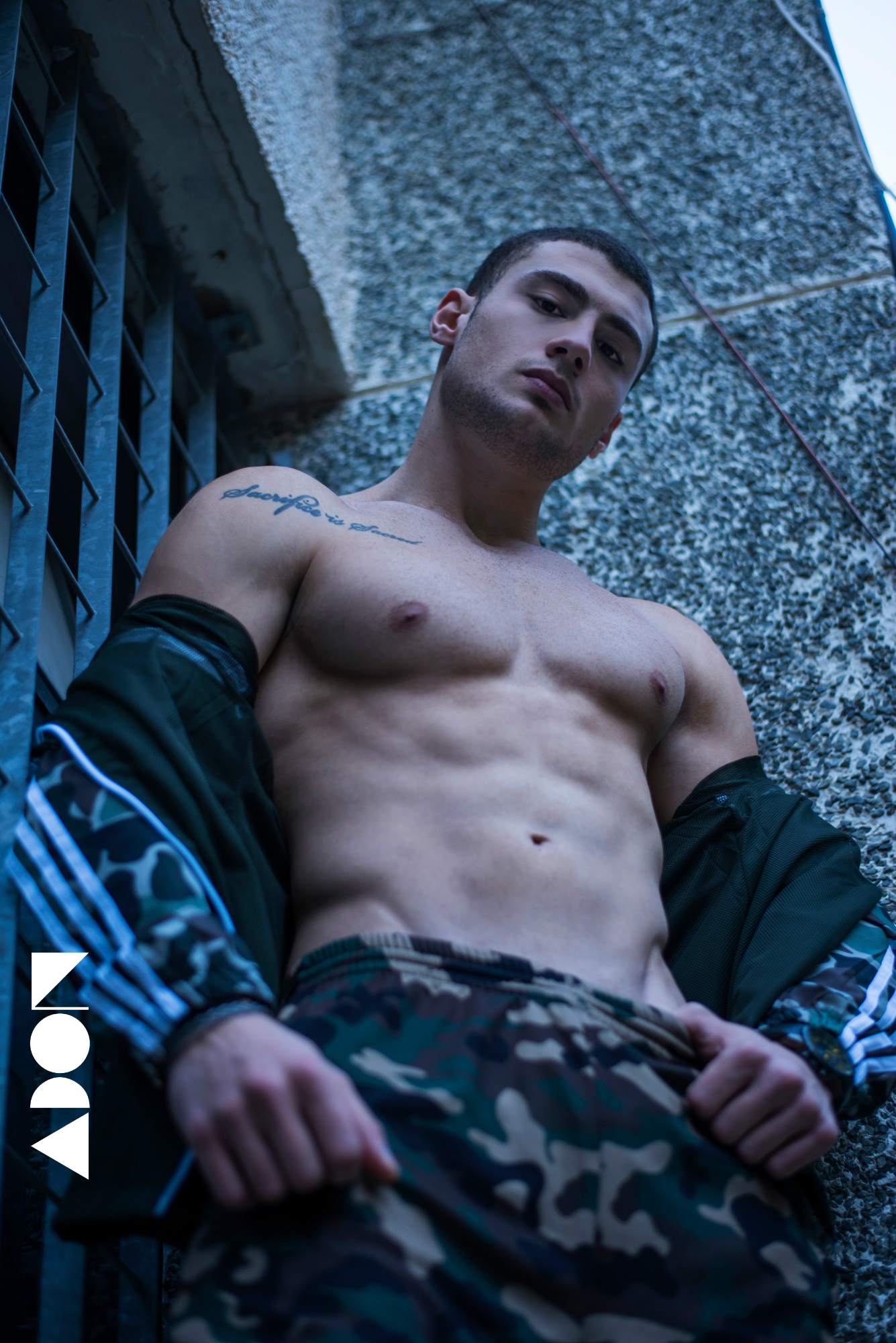 Adon Exclusive: Model Mario Kassis By Stavros Christodoulou