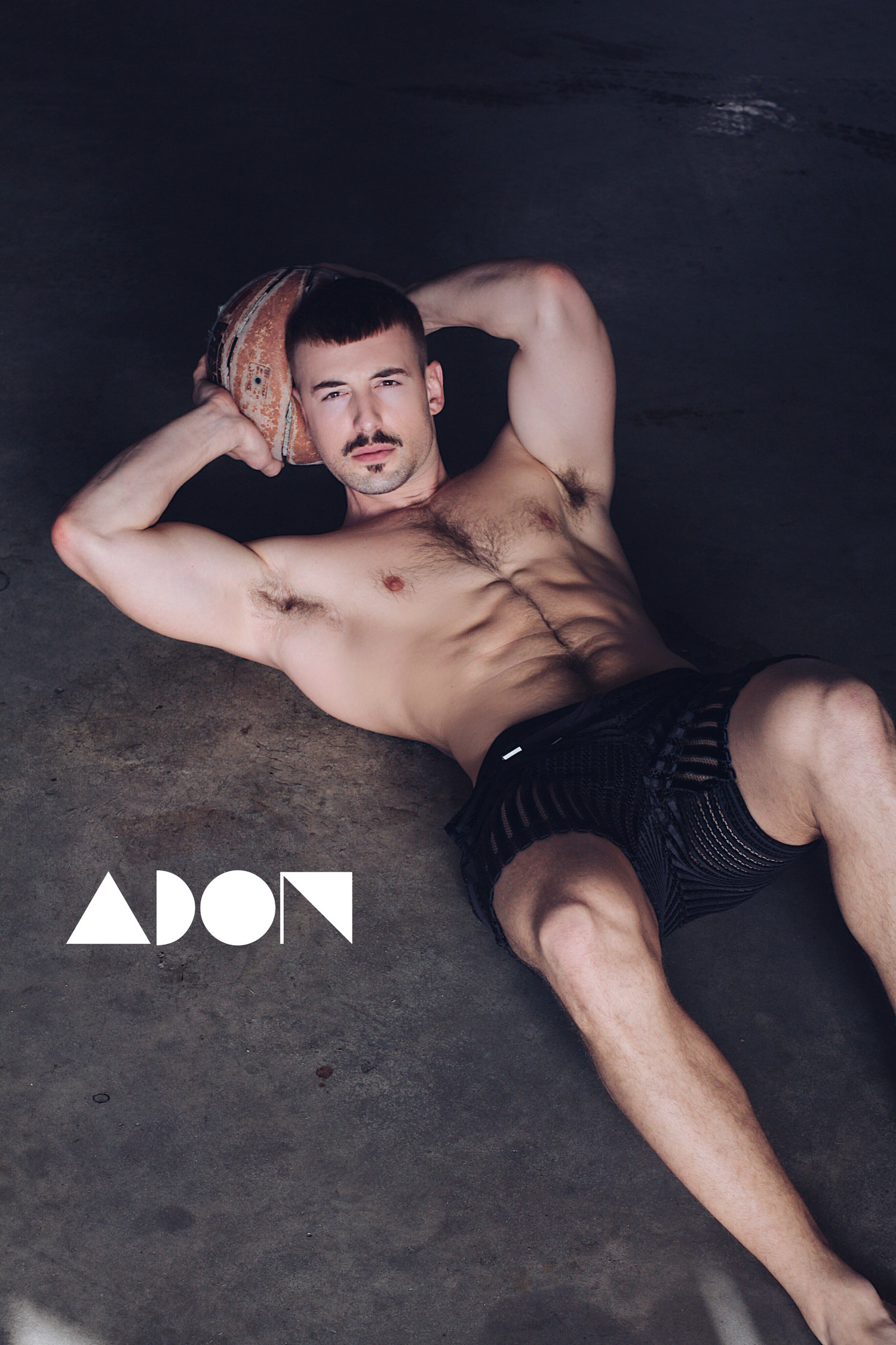 Adon Exclusive: Model Andy Crum By Luis Lucas