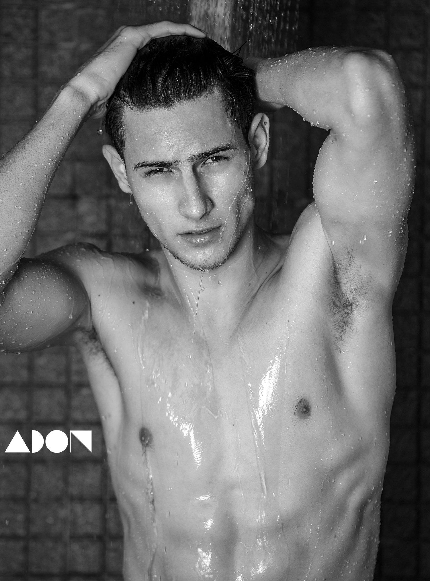 Adon Exclusive: Model Markus Quintão By Jason Oung