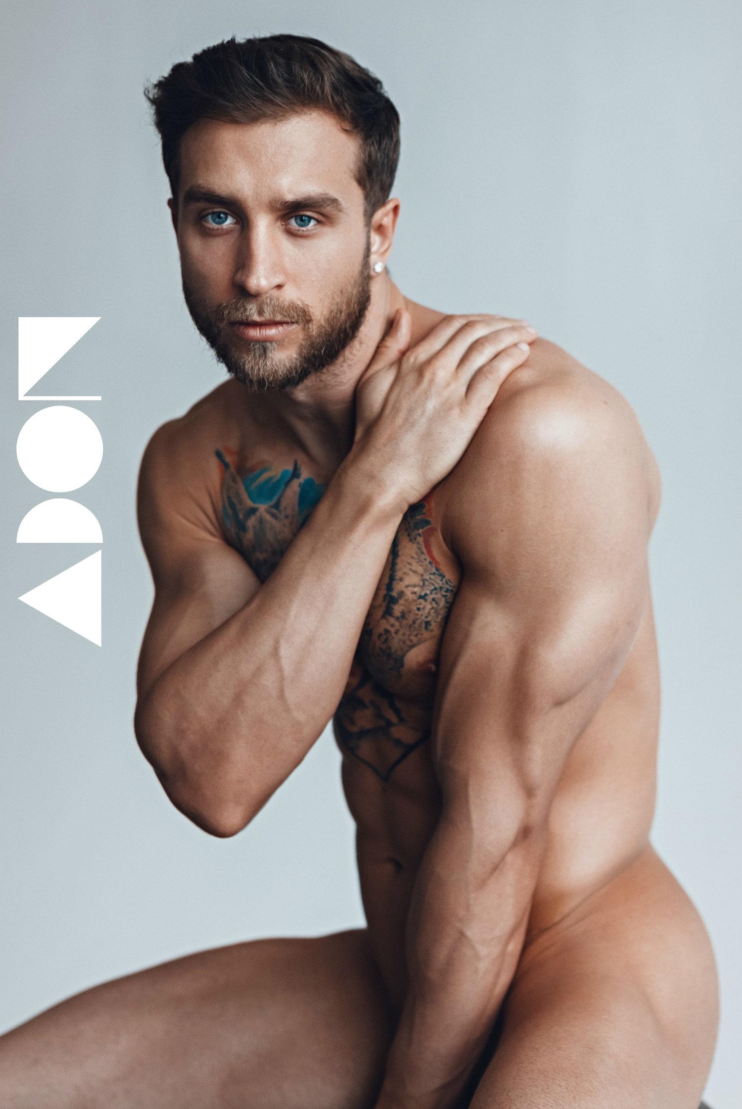 Adon Exclusive: Model Alex Kapishnik By Pavel Lepikhin