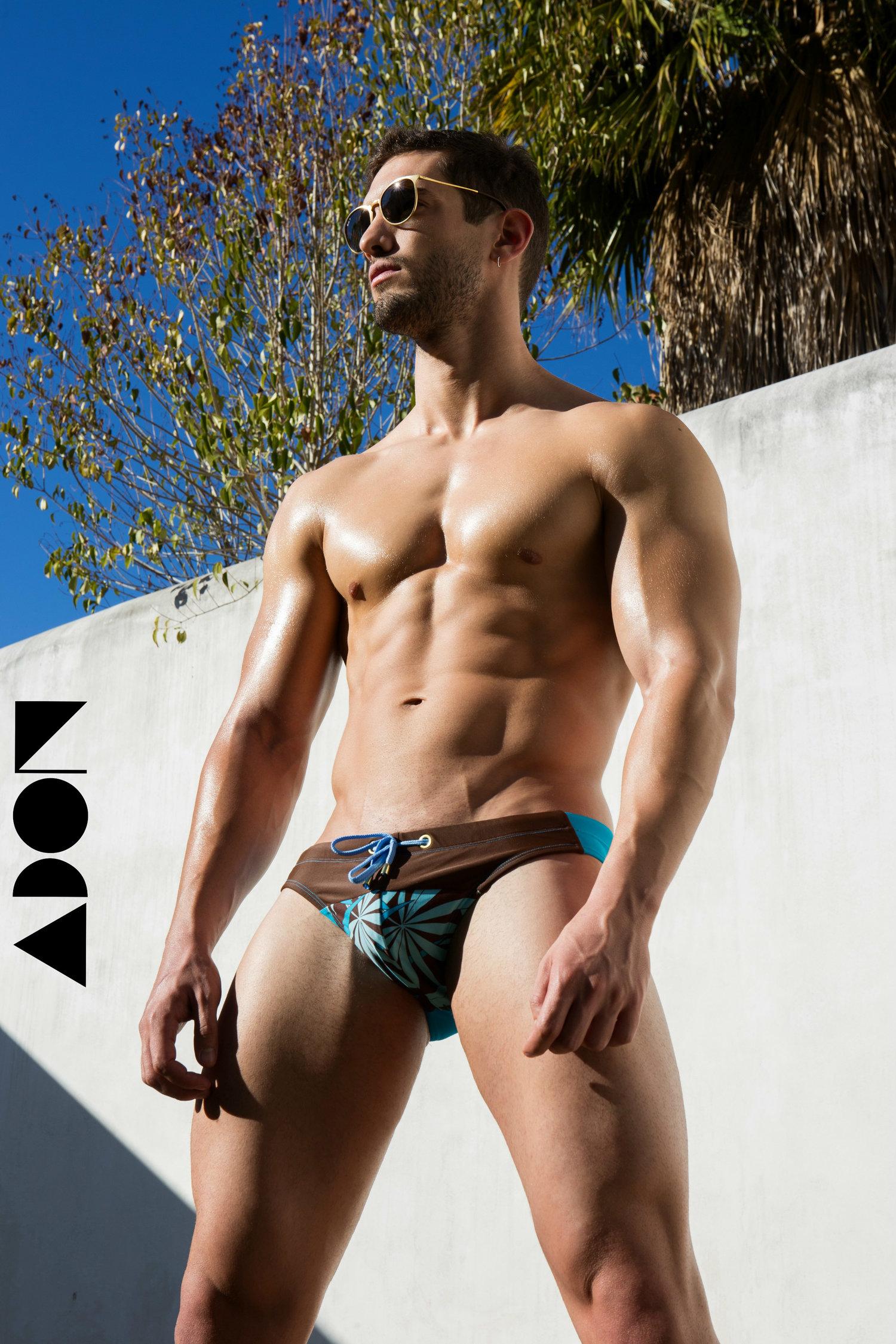 Adon Exclusive: Model Guilherme Reis By Stas Vokman