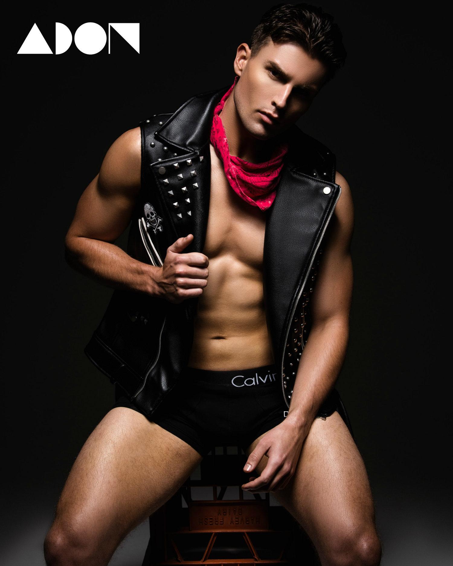 Adon Exclusive: Model Stefan Burrows By Daniel Enright