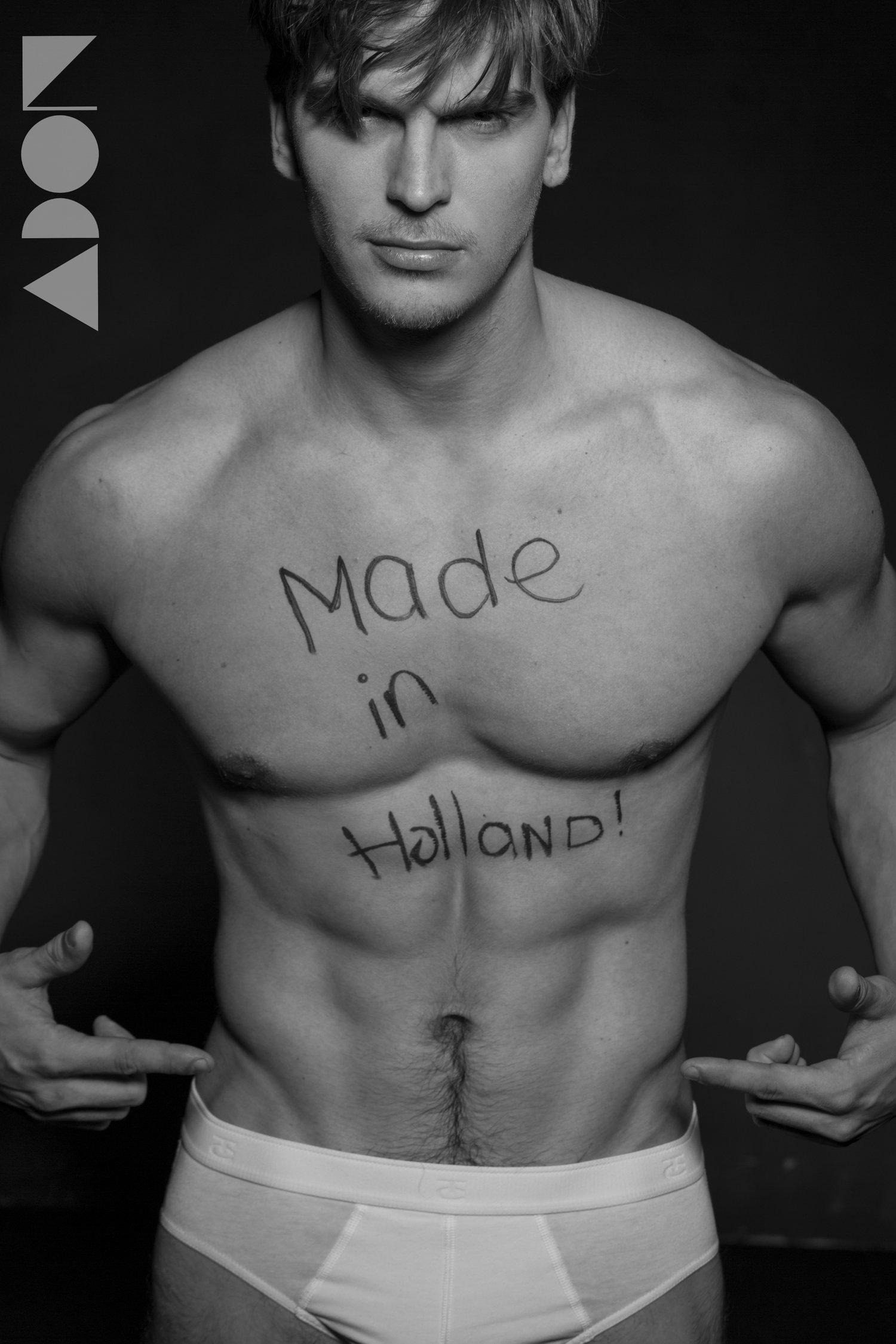 Adon Exclusive: Model Ronny East By Paul Van Der Linde