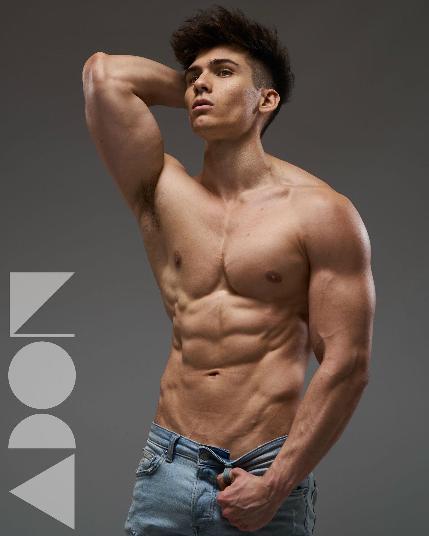 Adon Exclusive: Model Michael Sherman By Travis Lane