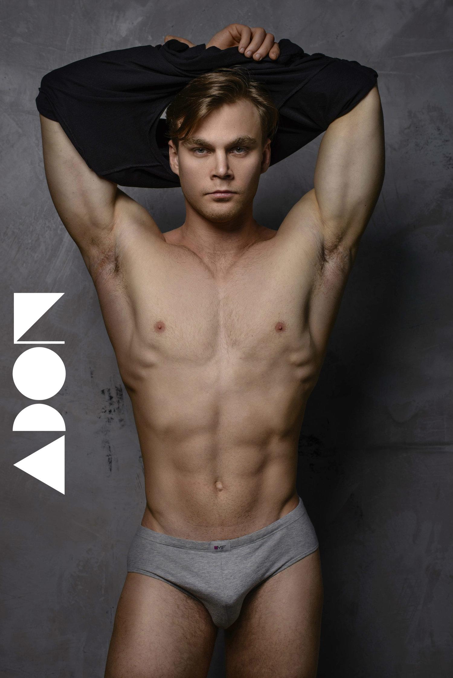 Adon Exclusive: Model Anton Astapenko By Walter Summer