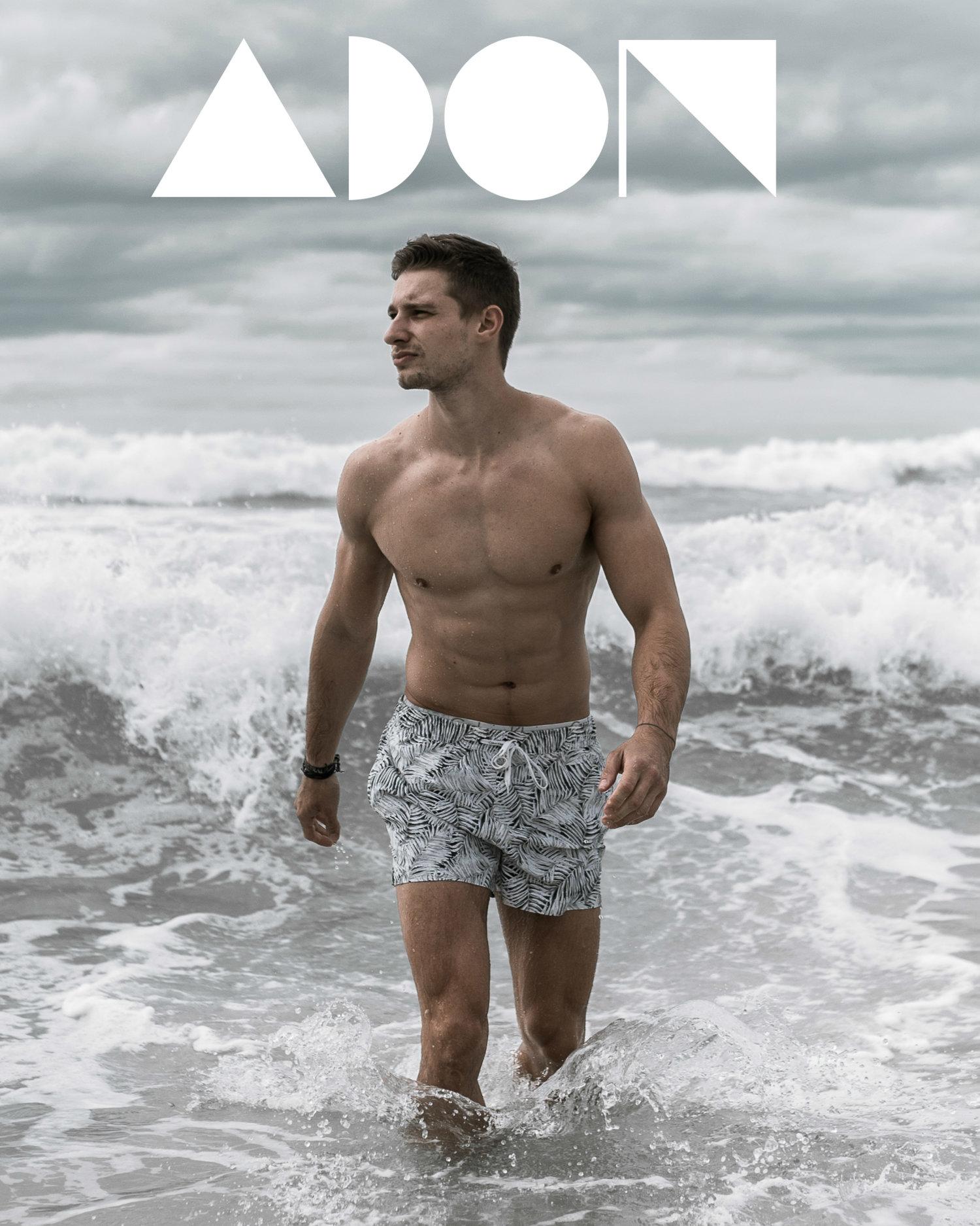 Adon Exclusive: Model Gabriel Roure By John Carlos Ramos