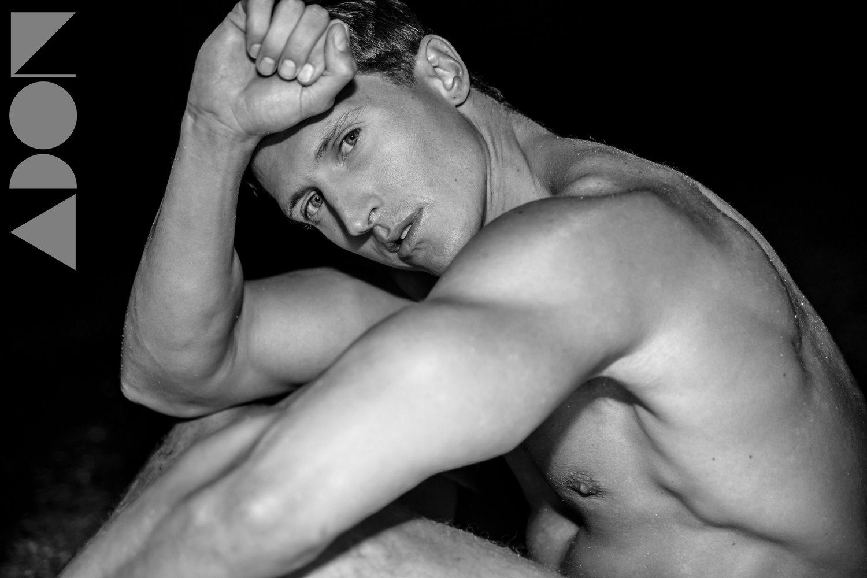 Adon Exclusive: Model Jeff Grant By Luigi Costa