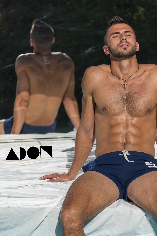 Adon Exclusive: Model Pasha Kondrakhin By Benjamin Veronis