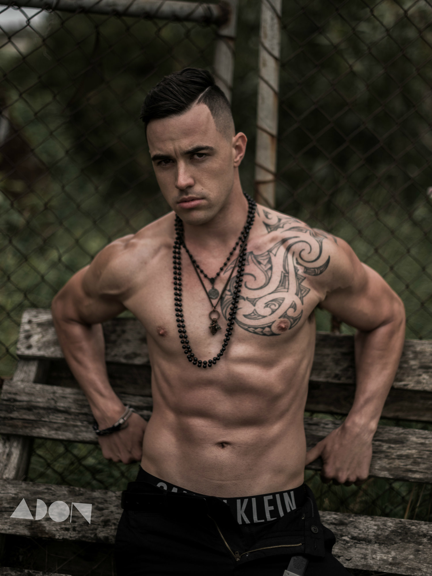 Adon Exclusive: Model Ric Prangnell By John Carlos Ramos