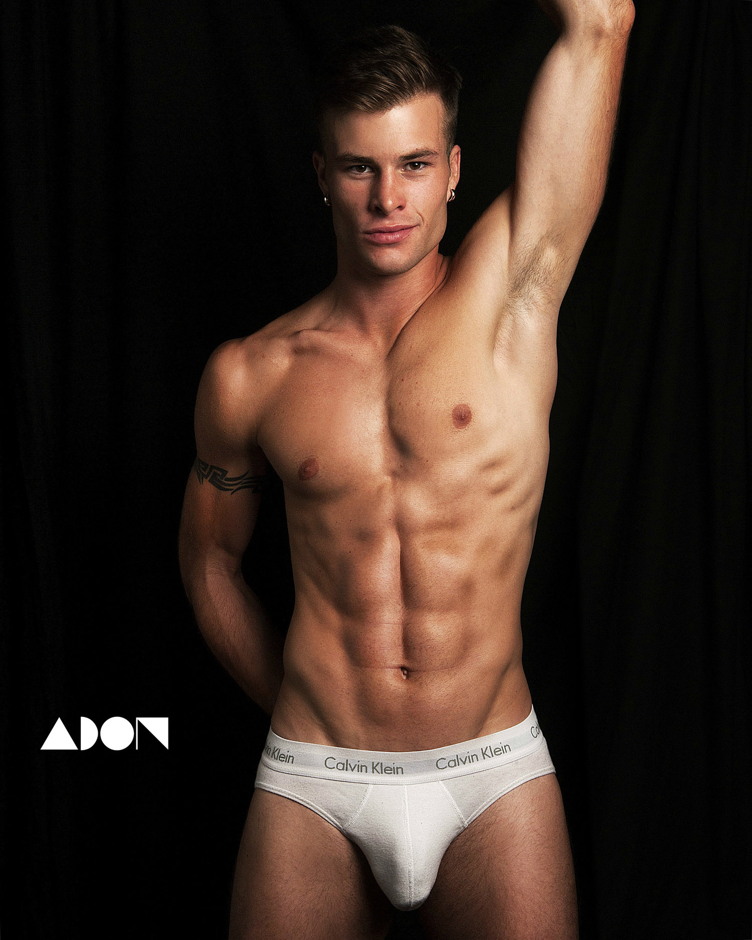 Adon Exclusive: Model Marco Moro By Daniel Rodrigues