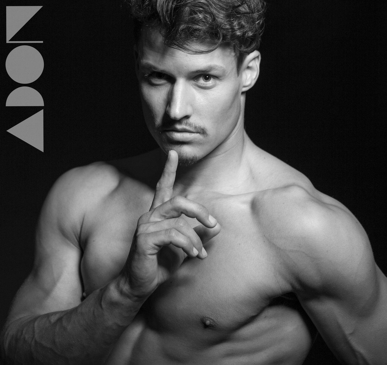 Adon Exclusive: Model Andres Leman By Paul Van Der Linde