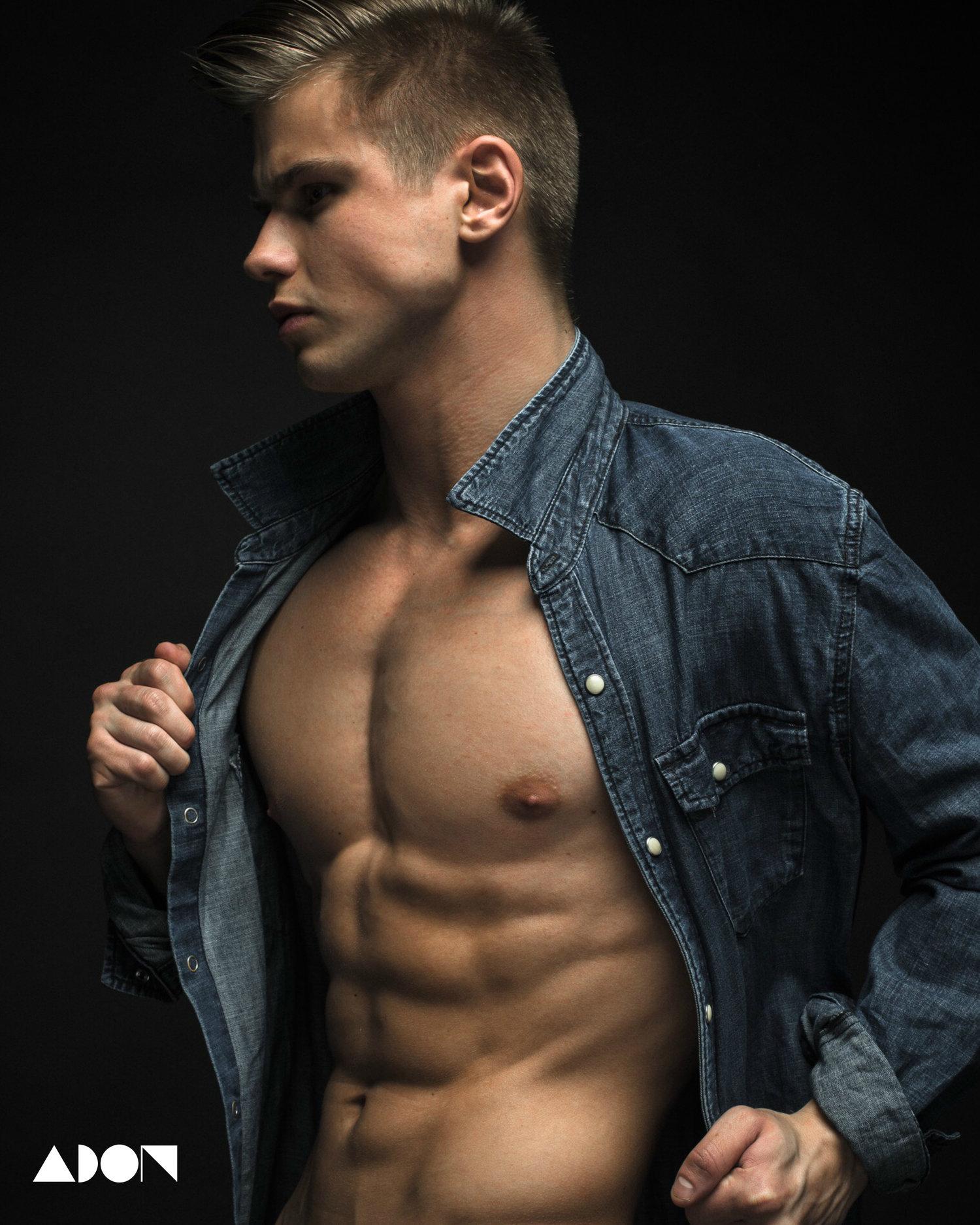 Adon Exclusive: Model Valeriy Kuzmenko By Post Ivan