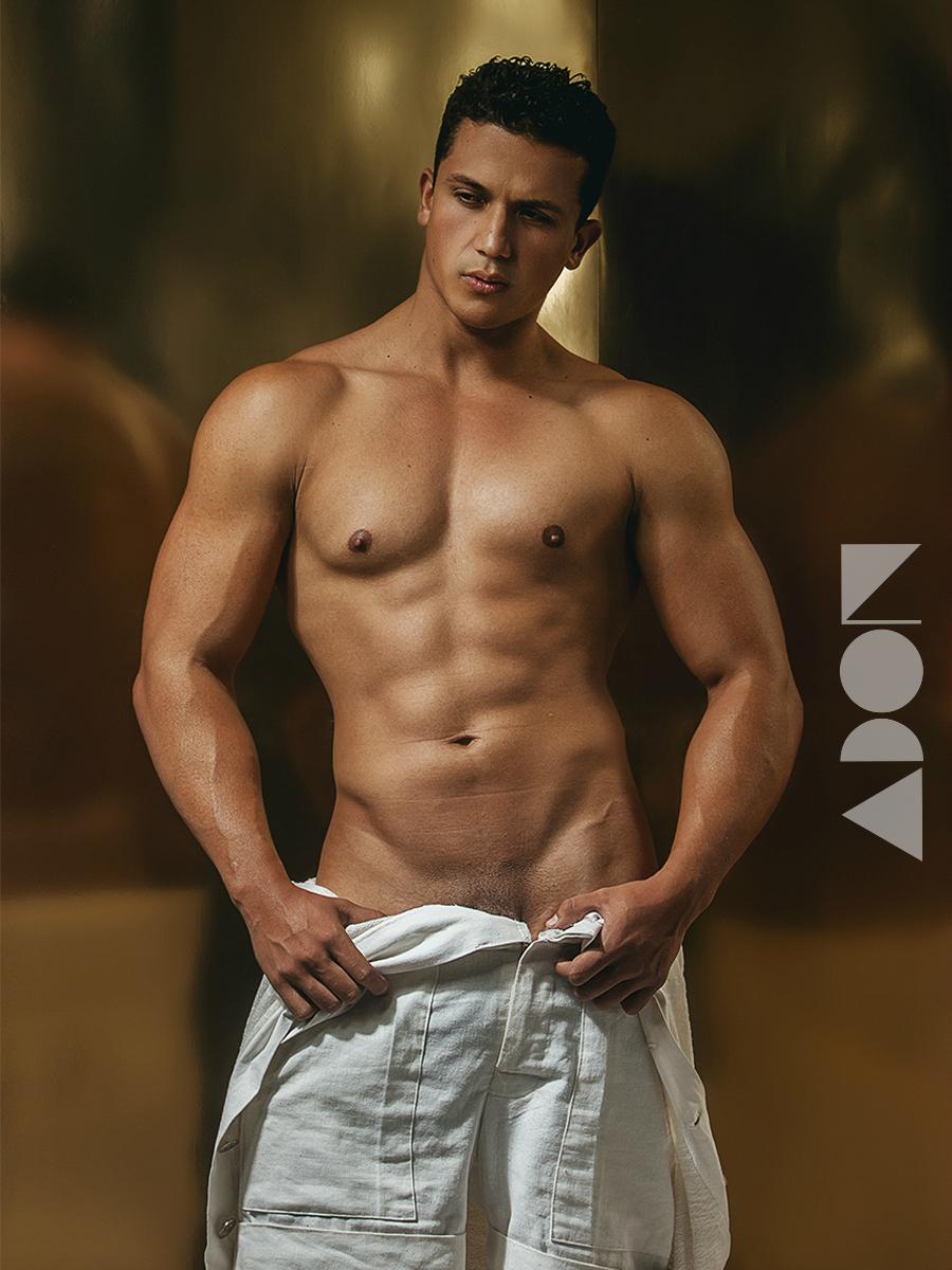 Adon Exclusive: Model Erik Alferez By Chris Femat